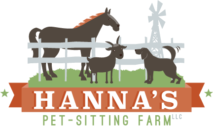 Hanna's Pet Sitting Farm Logo